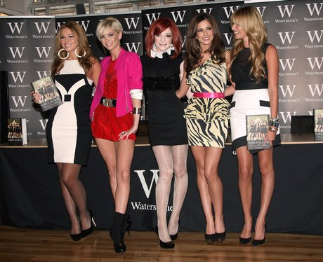 Girls Aloud 'Dreams That Glitter' book signing