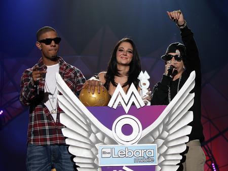N-Dubz win MOBO Award