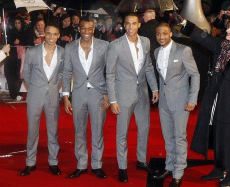 JLS at the 2010 BRIT Awards