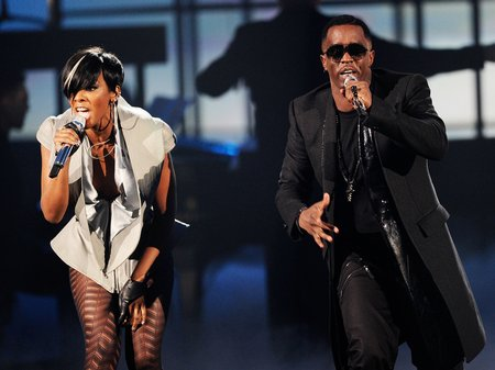 P diddy live at the american music awards 2010
