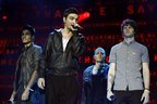 Image 2: The Wanted performing at the Jingle Bell Ball