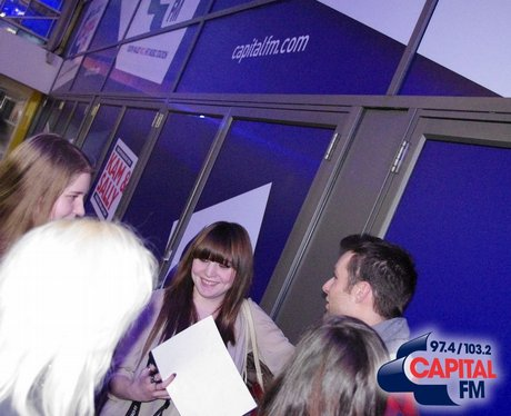 McFly visit Capital FM South Wales
