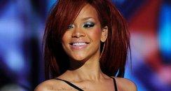 Rihanna at The NBA All-Star Game