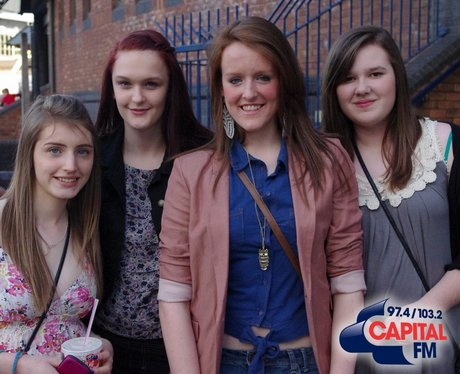 X Factor Fans in Cardiff