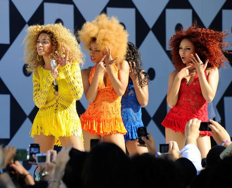 "Beyonce Performs On ABC's ""Good Morning America"""