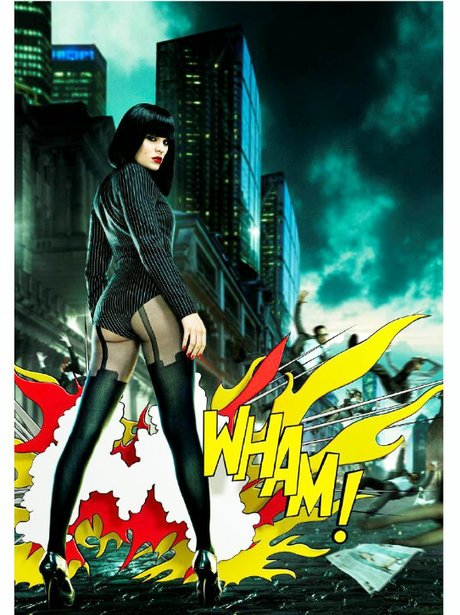 Jessie J advert for Pretty Polly