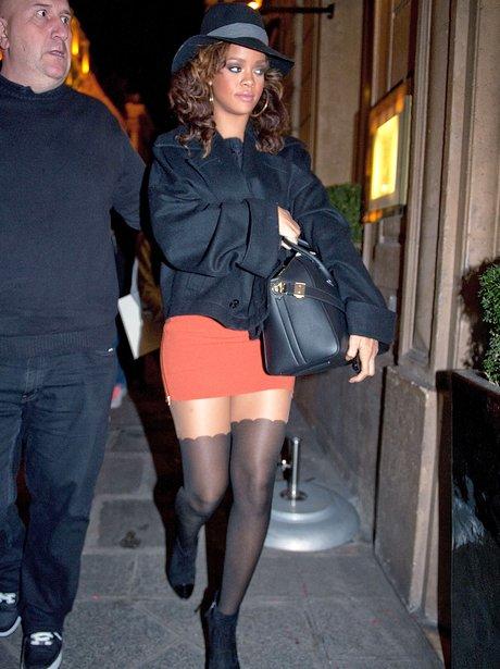Rihanna in Paris