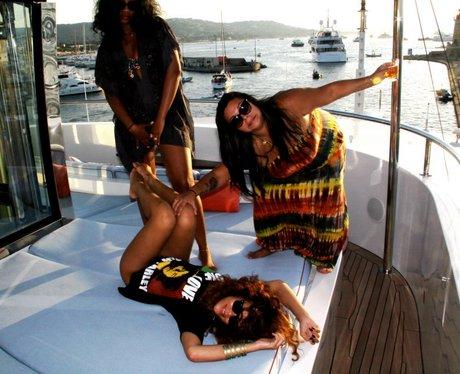 Rihanna's Holiday Snaps