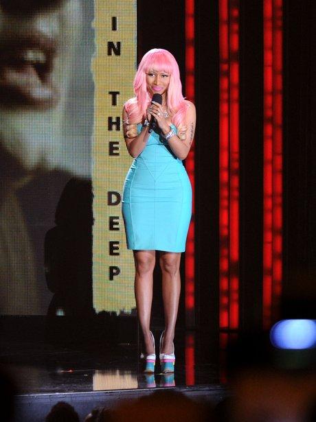 Nicki Minaj at the Grammy Nominations Concert