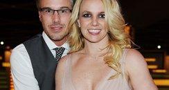 Britney Spears hugging Jason Trawick