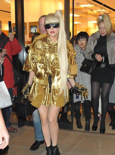 Lady Gaga in Tokyo, Japan.