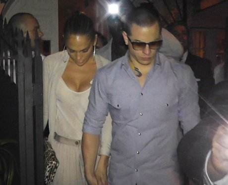 Jennifer Lopez and Capser Smart