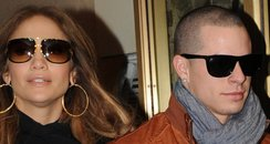 Jennifer Lopez with Casper Smart