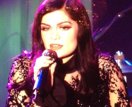 Jessie J pays tribute to Whitney Houston at Pre Grammy Awards Party