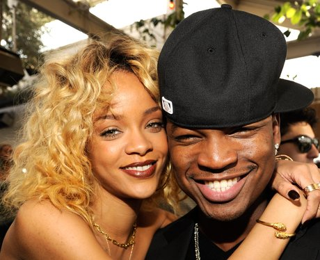 Rihanna and Ne-Yo Pre Grammy Awards 2012