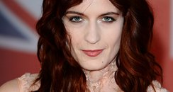 Florence Welch arrives at the BRIT Awards 2012