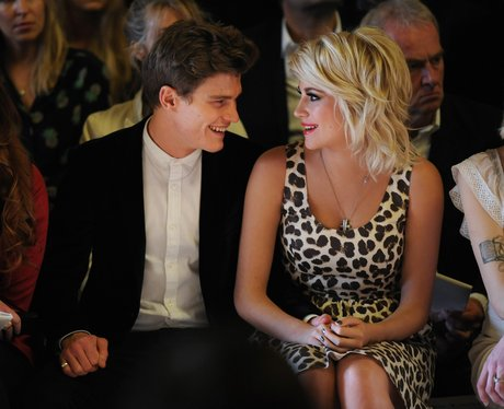 Pixie Lott and Oliver Chershire