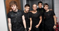 The Wanted on Tour In Dublin 2012