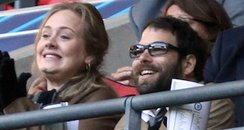 Adele and Boyfriend