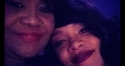 Rihanna and her mum on Twitter