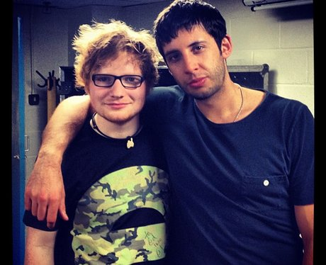 Ed Sheeran and Example Twitter