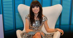Carly Rae Jepsen backstage at the Summertime Ball