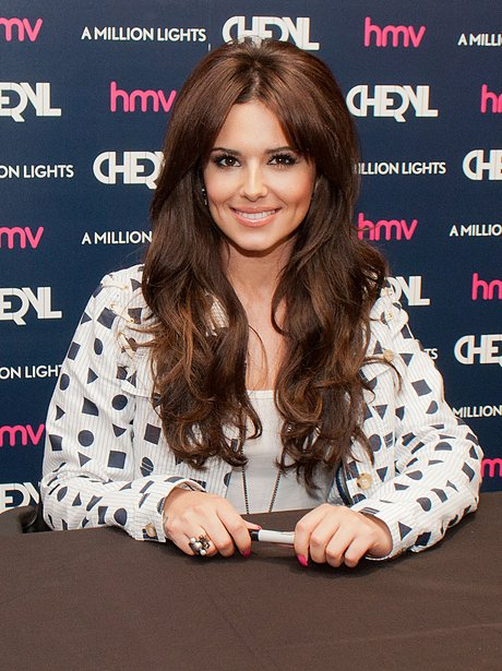 Cheryl Cole meet fans and sign copies of her new album, 'A Million Lights' at HMV Gateshead