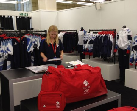 Team GB Kitting Out