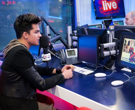 Adam Lambert Web Chat CaptialFM.com