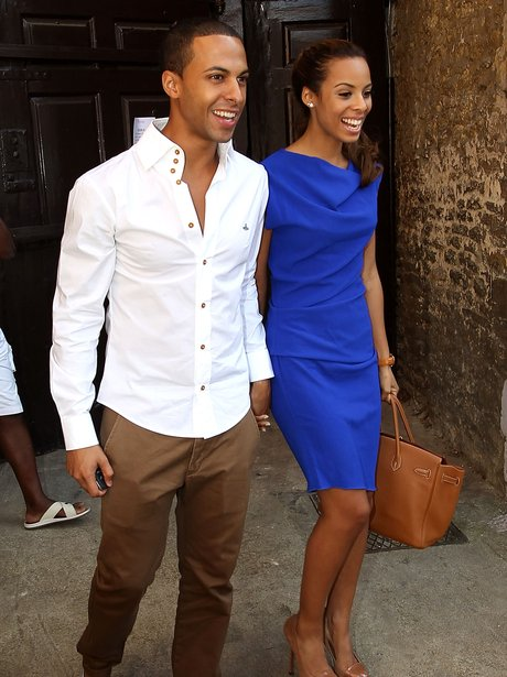 Rochelle Wiseman and Marvin Humes Wedding