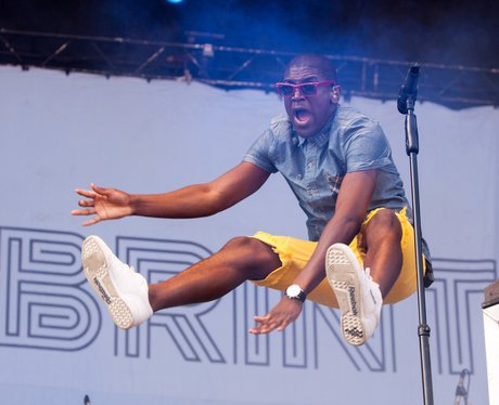 Labrinth Performs At V Festival 2012