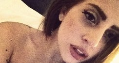 Lady Gaga with brunette hair from Twitter