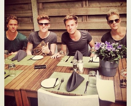 Lawson out for lunch in Amsterdam
