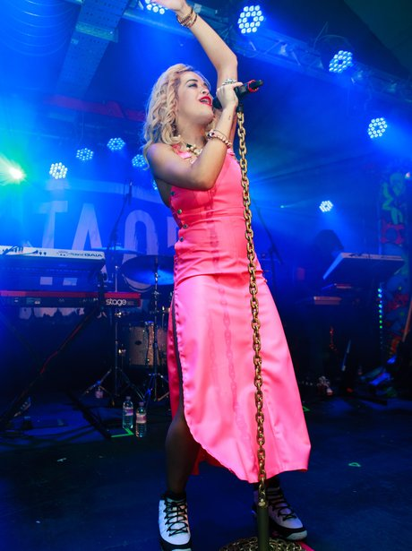Rita Ora live