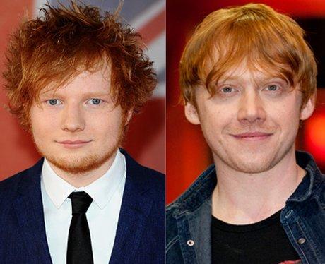 Ed Sheeran And Rupert Grint - Pop's Best Celebrity ... Rupert Grint Instagram