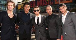 The Wanted MTV VMA's 2012