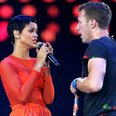 Coldplay and Rihanna Paraylmpic Closing Ceremony