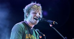 Ed Sheeran performs in London
