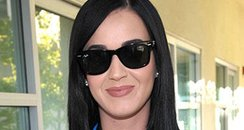 Katy Perry voting in the US election 2012