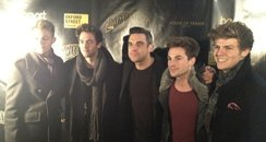 Lawson and Robbie Williams from Twitter
