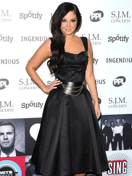 Tulisa Music attends The Music Indusrty Trusts Awards