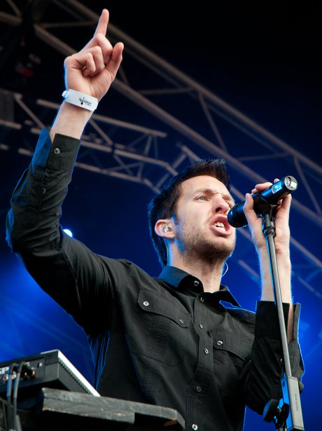 Calvin Harris live on stage