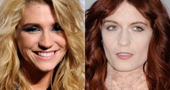 Ke$ha and Florence Welch
