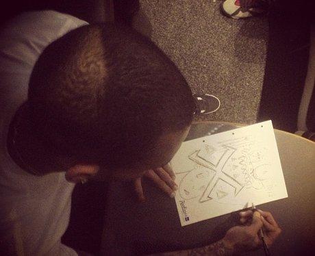 Chris Brown new album artwork
