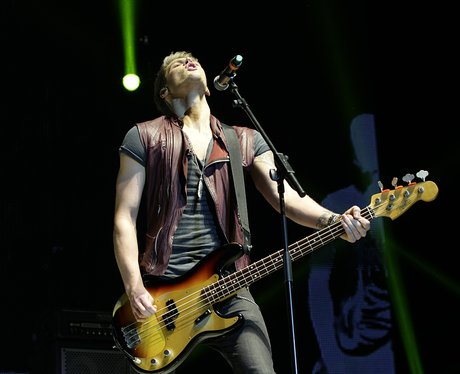 Lawson at the Jingle Bell Ball 2012