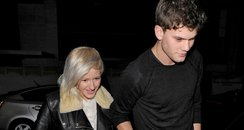 Ellie Goulding and Jeremy Irvine