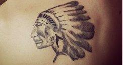 Justin Bieber new tattoo on his shoulder
