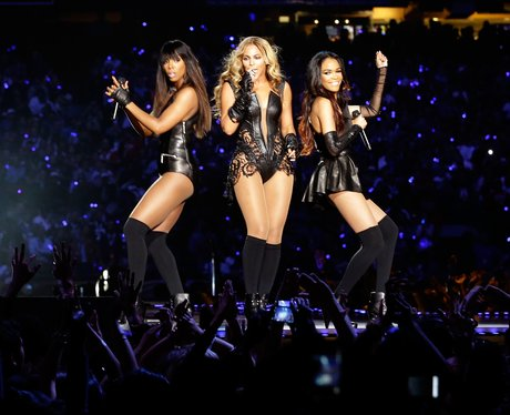 Destiny's Child sing Single Ladies at the Super Bowl 2013