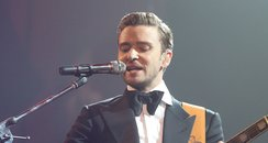 Justin Timberlake at DIRECTV Super Saturday Event