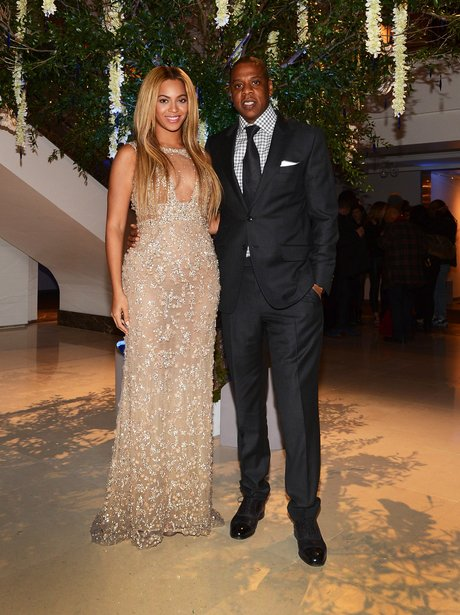 Beyonce and Jay-Z at the premiere of her HBO documentary